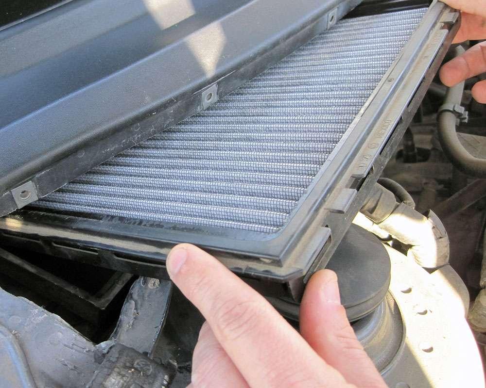 Фильтры в машине, которые не требуют частой замены