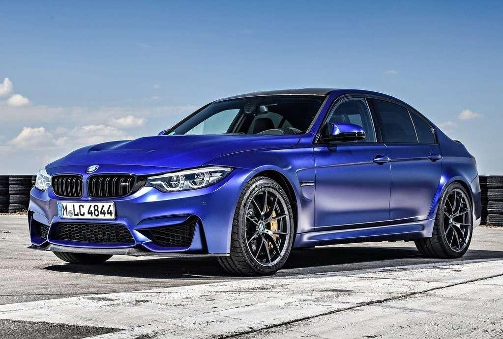 BMW M3 CS 2018 представила самый заряженный седан || BMW M3 CS 2018 представила самый заряженный седан