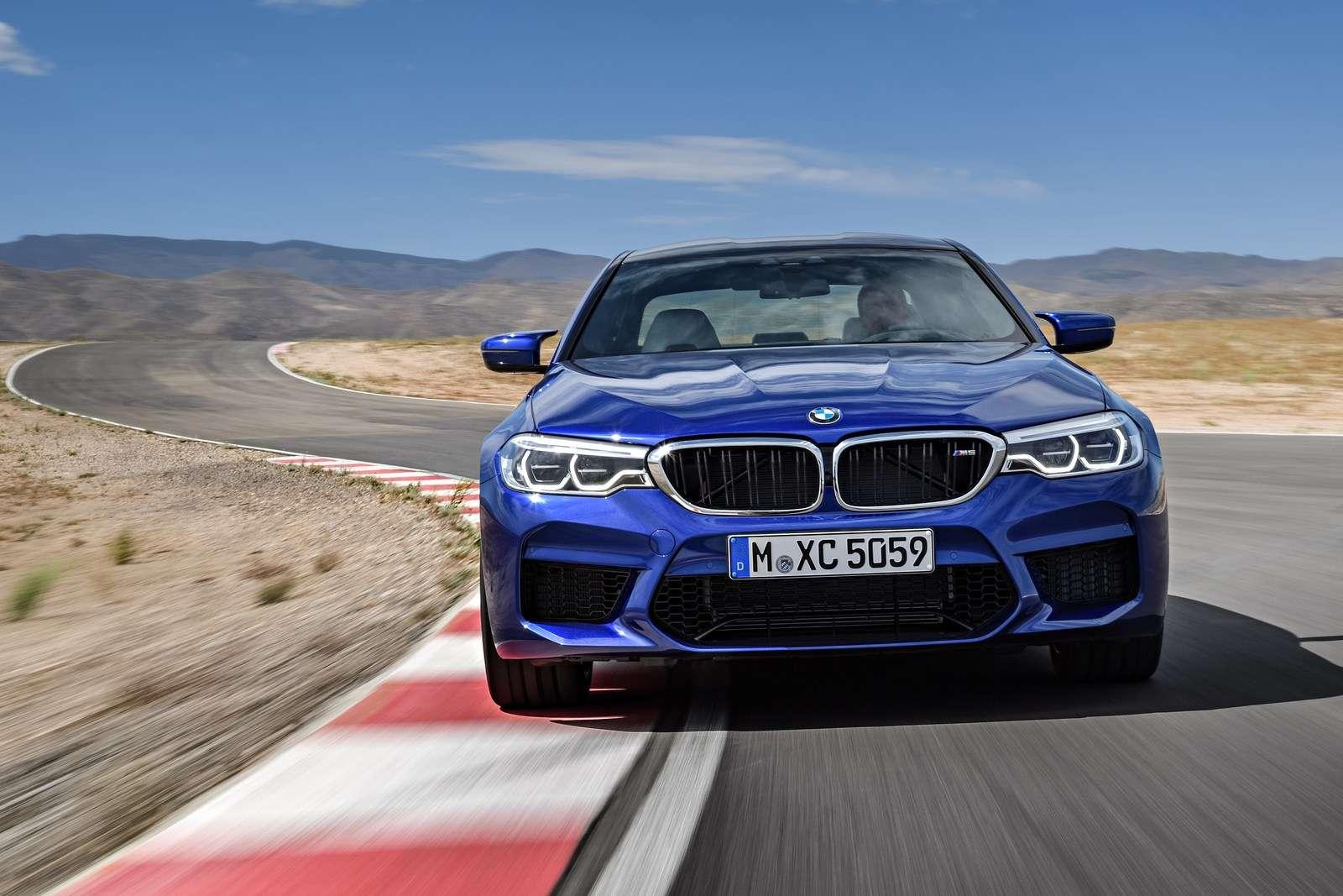 Видео-обзор BMW M5 (F90) Competition 2018