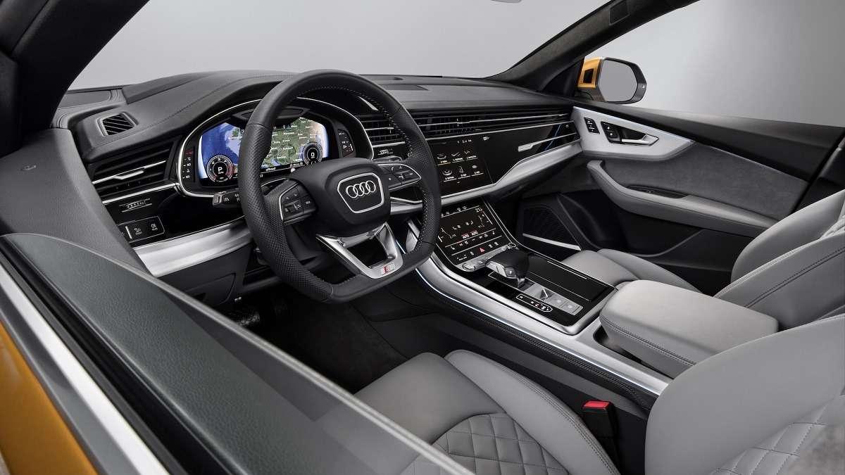 Видео-обзор Audi Q8 2019 года