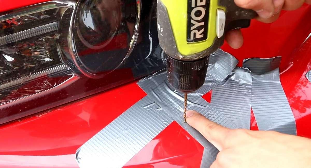 1530536305 dew - Как убрать трещину на бампере машины самостоятельно