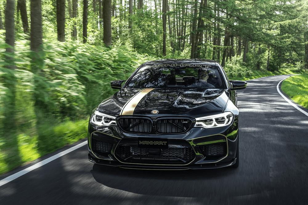 Видео-обзор самого мощного BMW 5-й Серии «Manhart MH5»