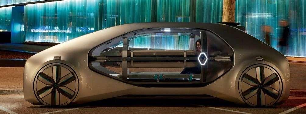 Видео-обзор Renault EZ-GO Concept 2018
