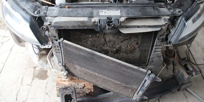 Чистка радиатора автомобиля своими руками
