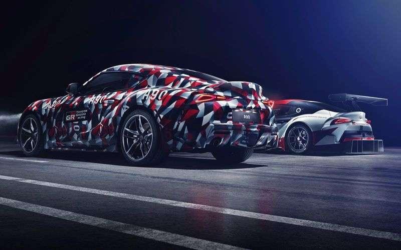 Новая Toyota Supra поступит в продажу в 2019 году