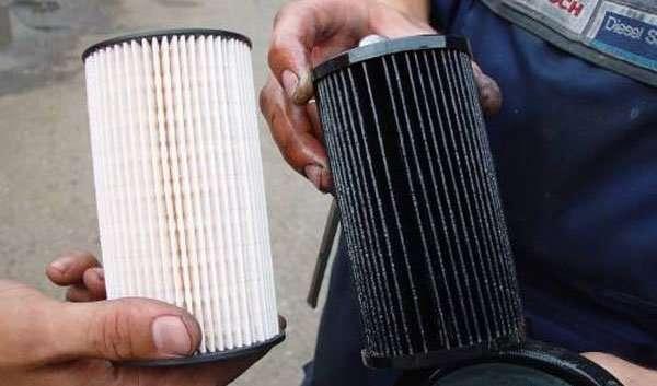 Где находится масляный фильтр в машине?