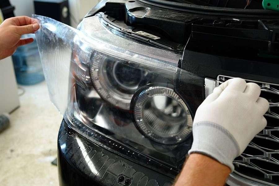 Защита машины от сколов и царапин