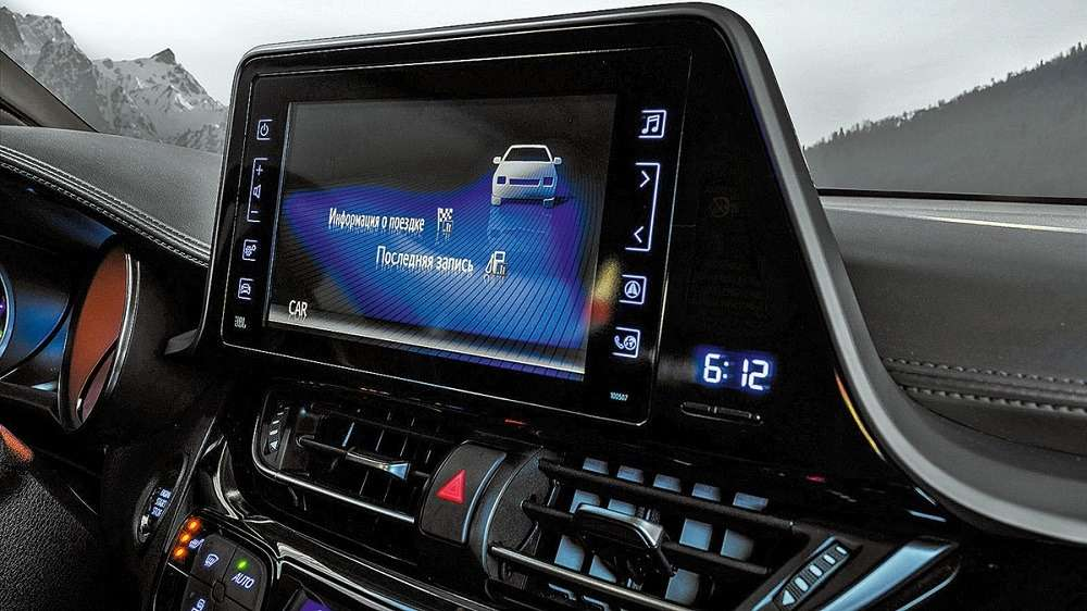 Видео-обзор Toyota C-HR