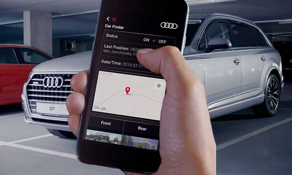 audi reg 3 - Обзор Audi Universal Traffic Recorder