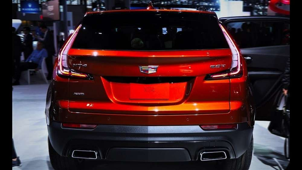 Тест-драйв Cadillac XT4 2019-2020 года