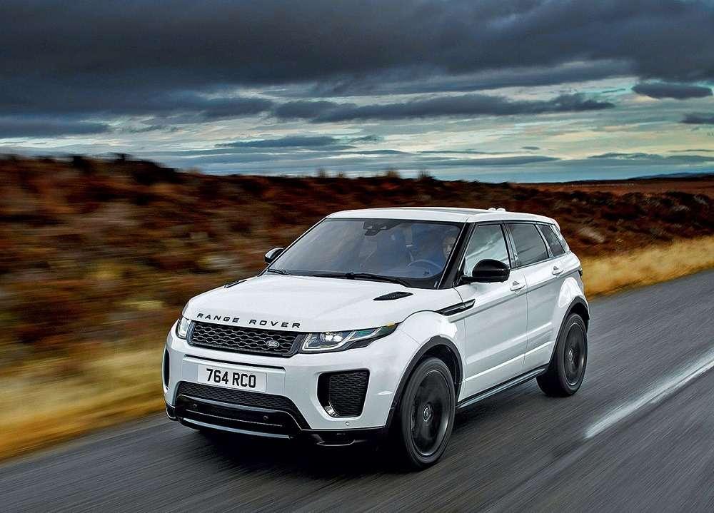История Range Rover