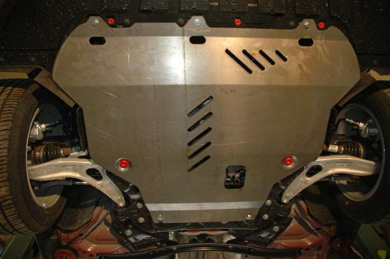 Защита картера двигателя автомобиля