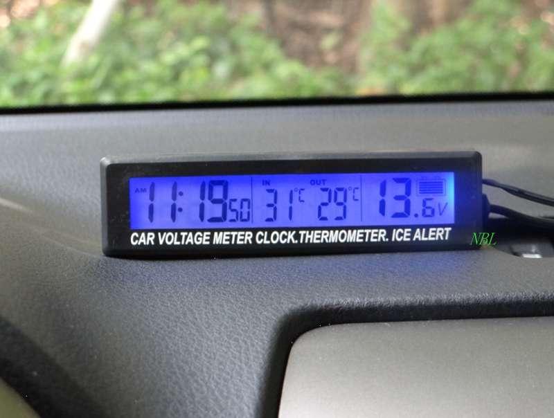 Как выбрать автомобильный электронный термометр для машины?