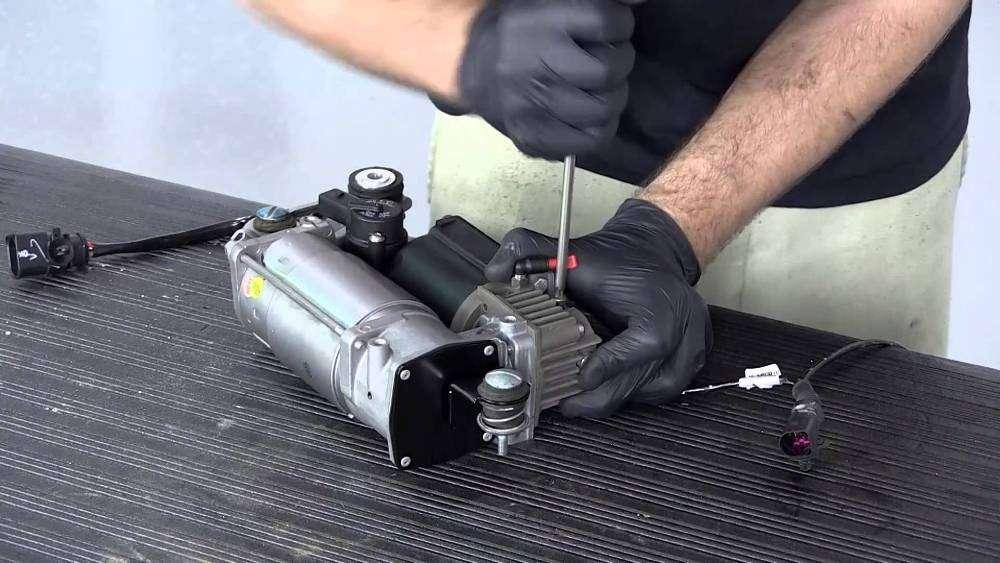 Как работает пневматическая подвеска автомобиля?