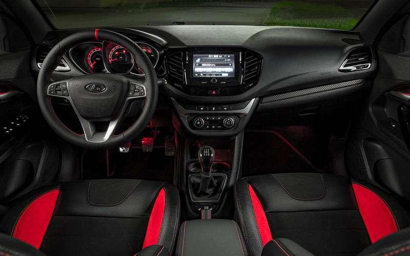 Тест-драйв Lada Vesta Sport 2018 года