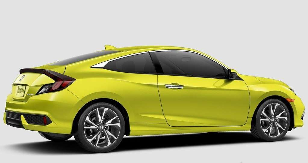 Honda Civic Coupe 2019 года: обновленная модель