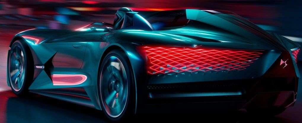 DS X E-Tense Concept 2018: технологии будущего