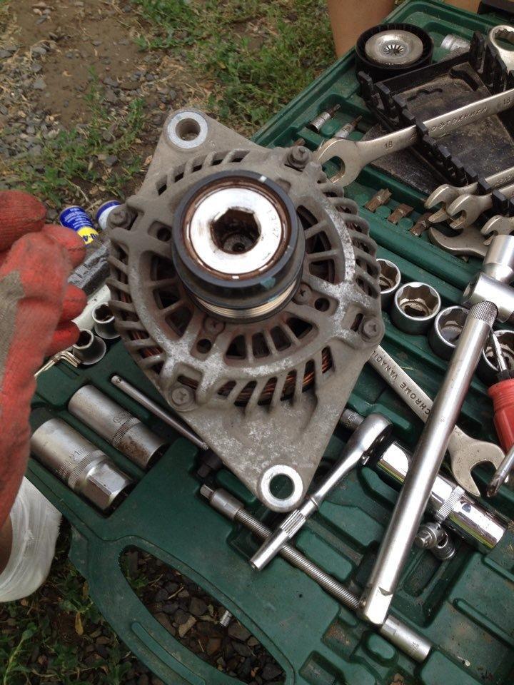Что такое обгонная муфта генератора автомобиля и как ее ремонтировать?