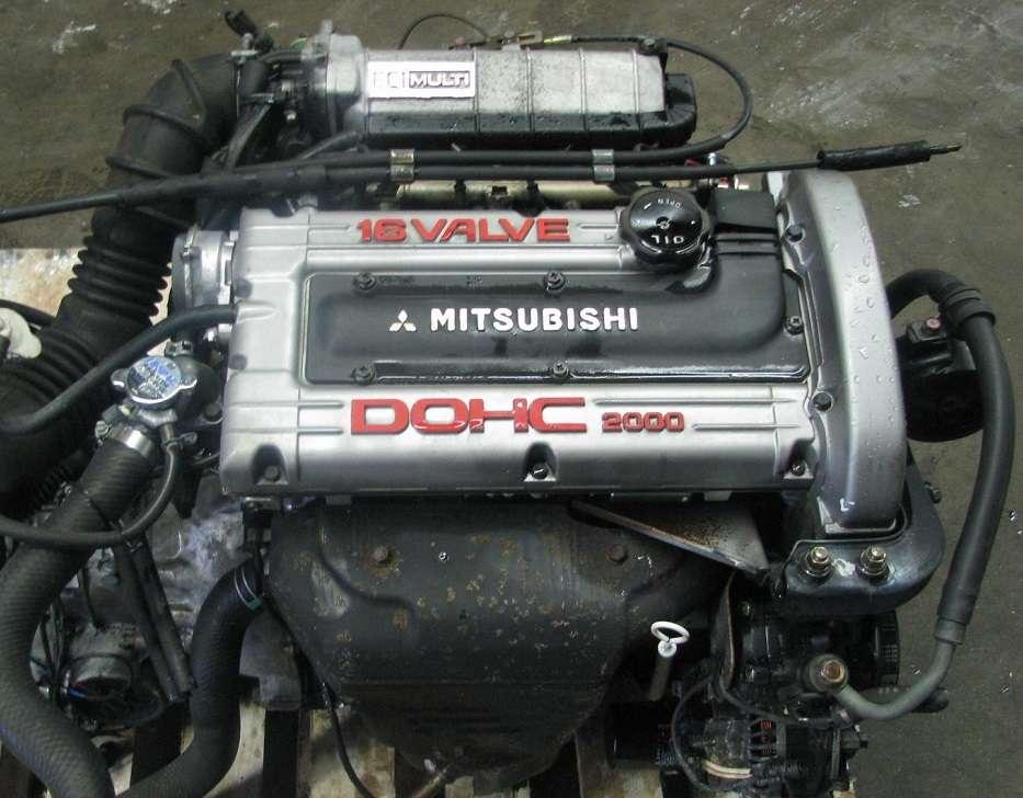 Контрактный двигатель Mitsubishi 4G63: технические характеристики
