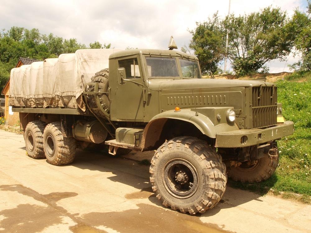 KrAZ 255 - ТОП-7 Мега-машин СССР