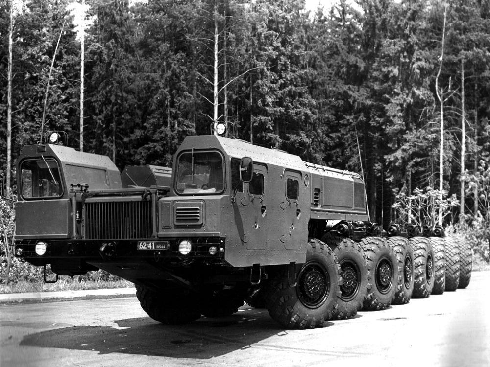 MAZ 7922 - ТОП-7 Мега-машин СССР