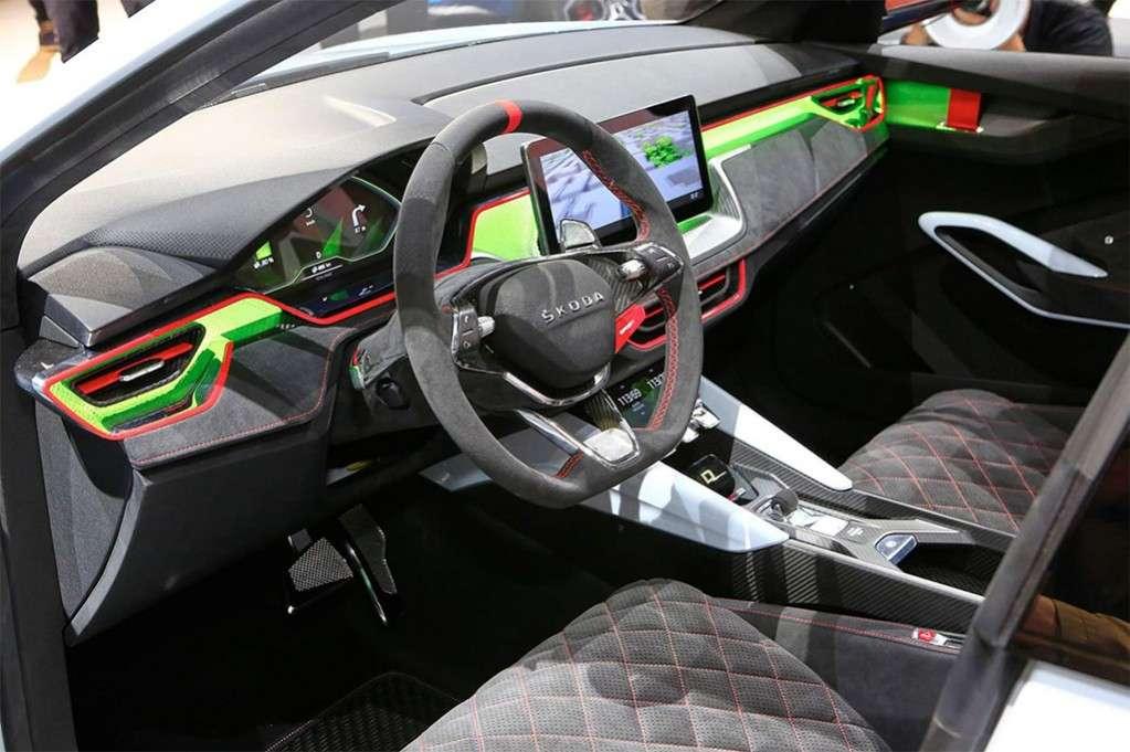 Видео-обзор Skoda Vision RS 2018 года