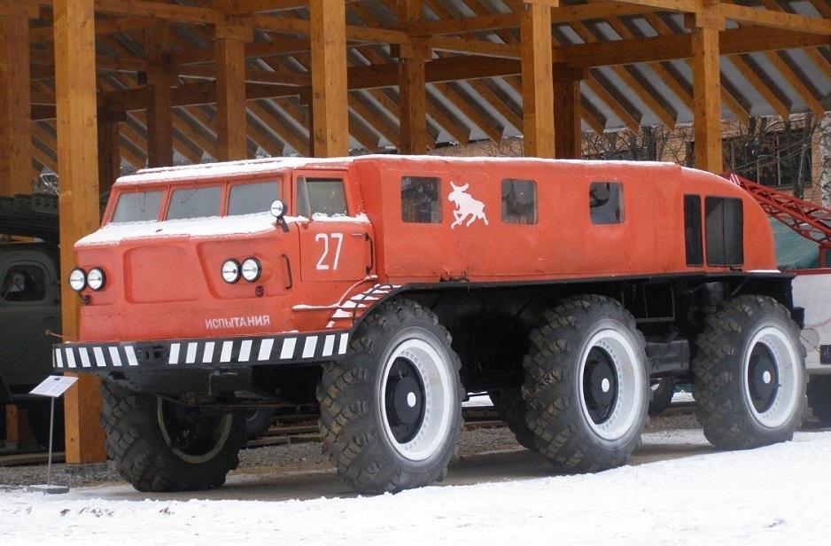 ZiL Je167 1 - ТОП-7 Мега-машин СССР