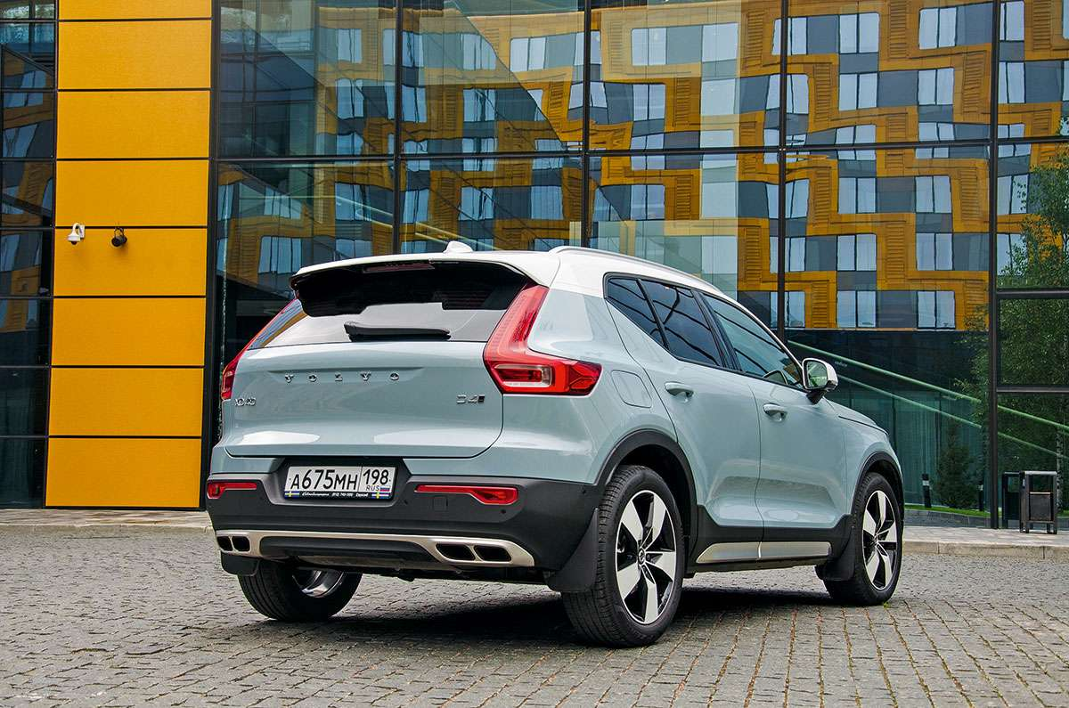 Volvo XC40 2018-2019 года: обзор новинки