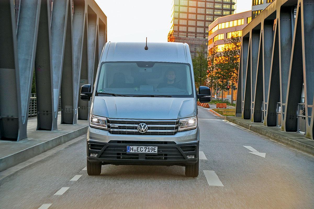 Тест-драйв Volkswagen e-Crafter: премьера электрического фургона