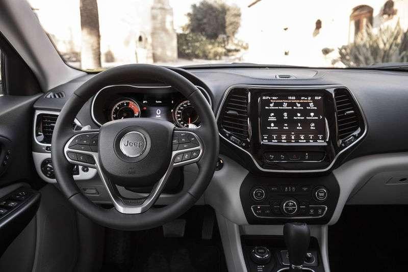 Jeep Cherokee 2019 года: видео-обзор новинки