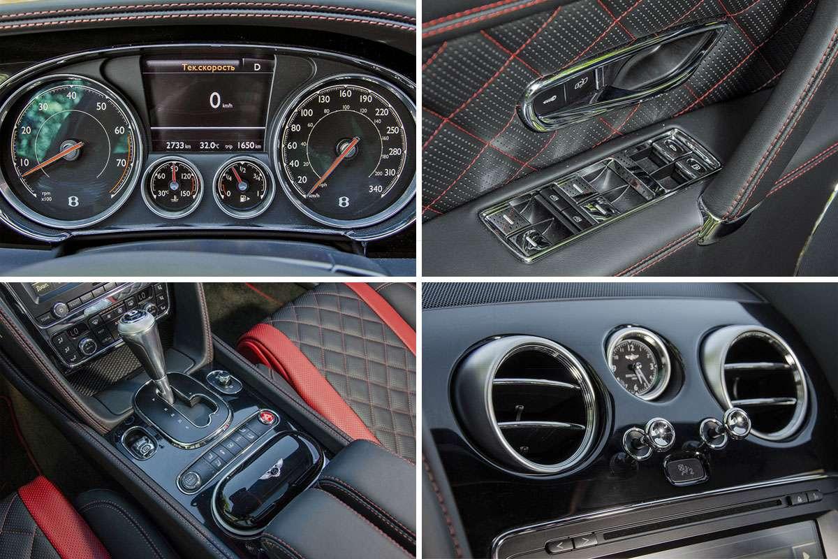 Bentley Flying Spur V8 S Black Edition: подробный обзор
