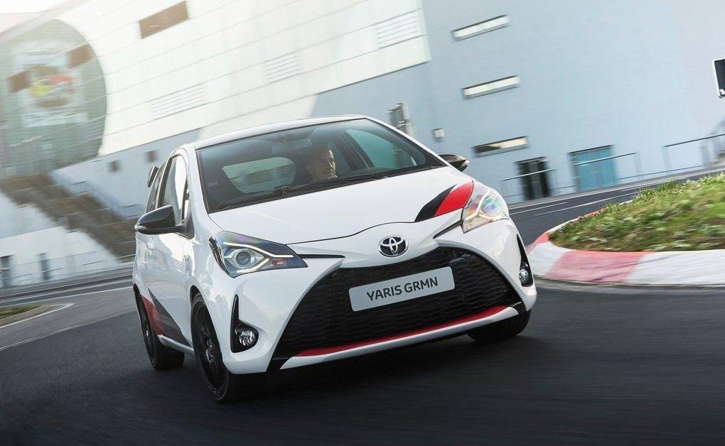Тест-драйв Toyota Yaris GRMN 2018 года