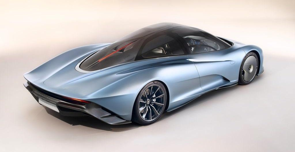 Тест-драйв McLaren Speedtail 2020 года
