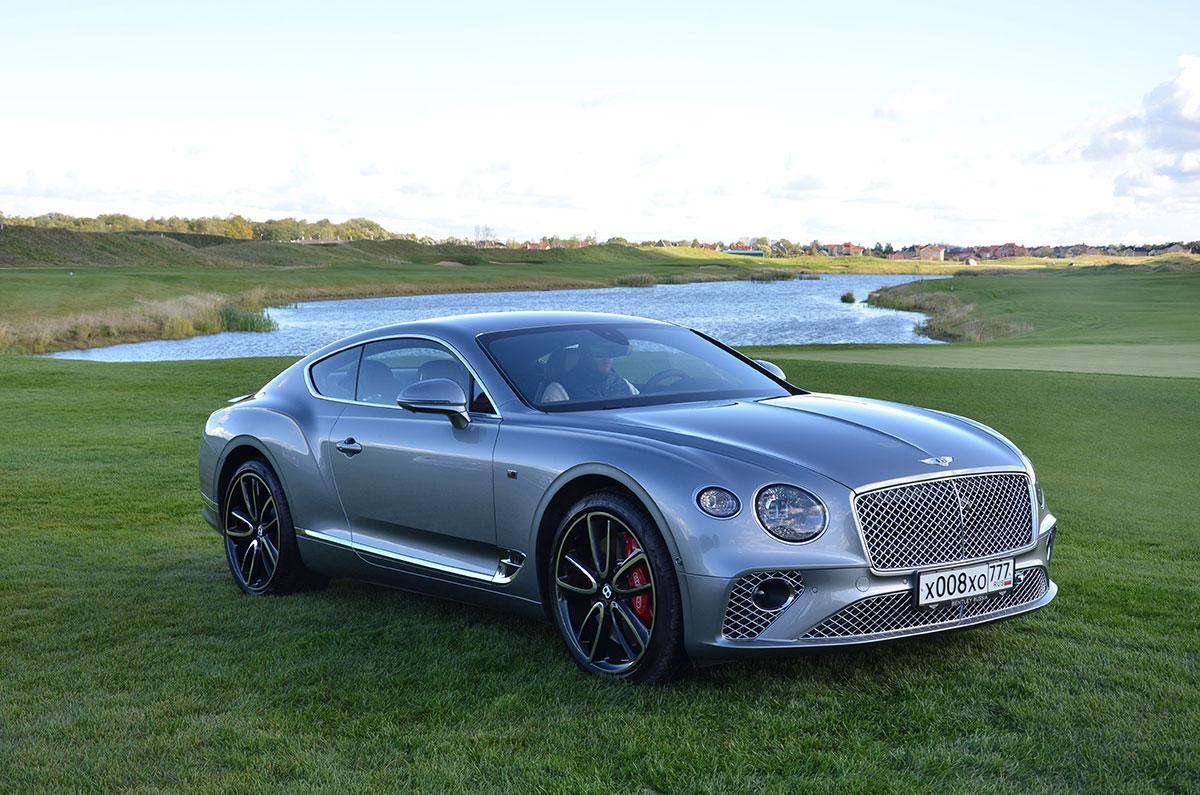 Тест-драйв Bentley Continental GT 2018 года