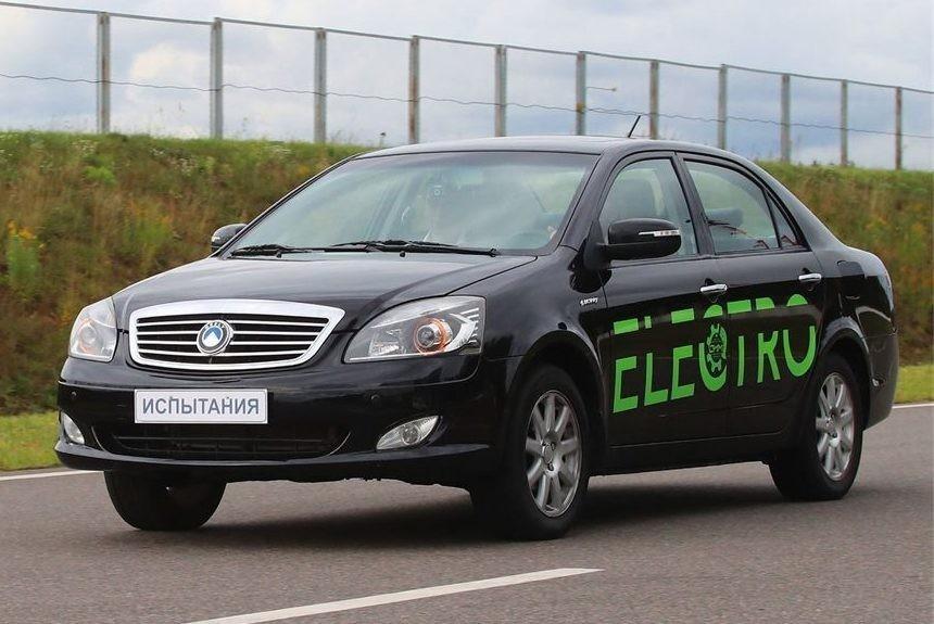 Электрический седан