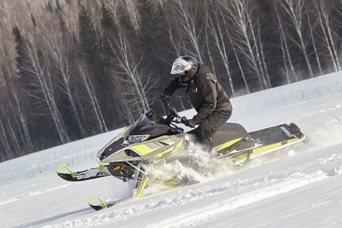 Тест-драйв Yamaha Sidewinder M-TX SE 162: самый мощный снегоход в мире!