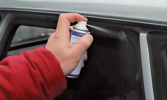 Силиконовая смазка для резиновых уплотнителей автомобиля