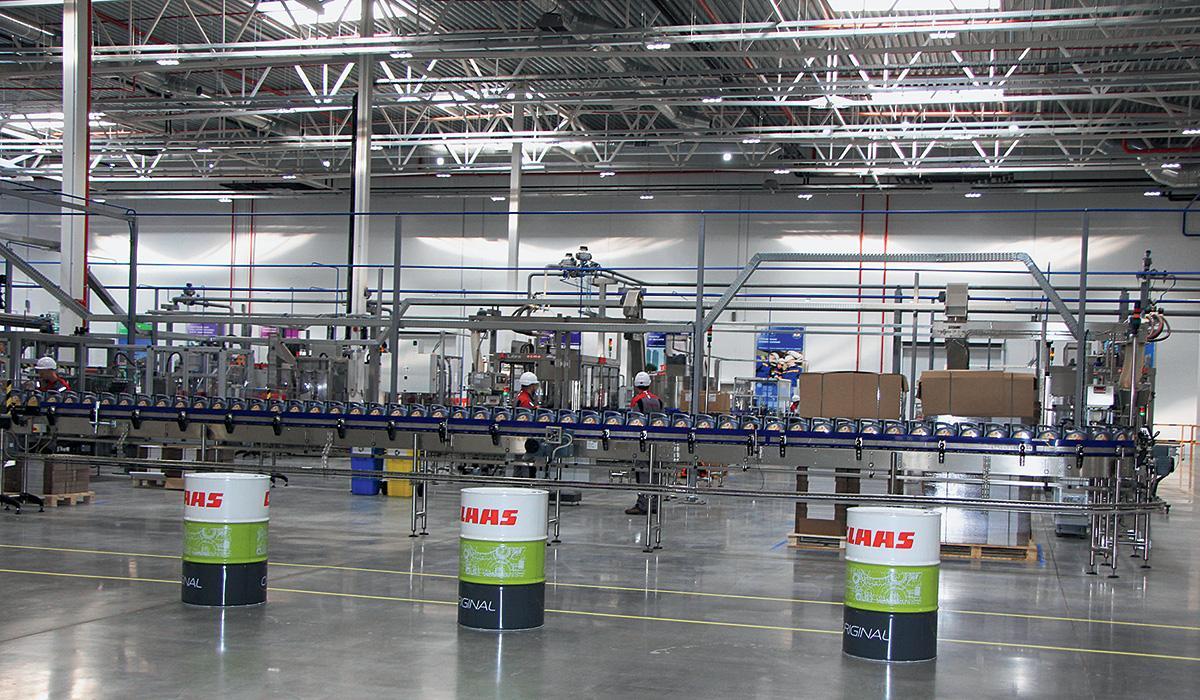 Концерн Total открыл завод по производству смазочных материалов в Калужской области