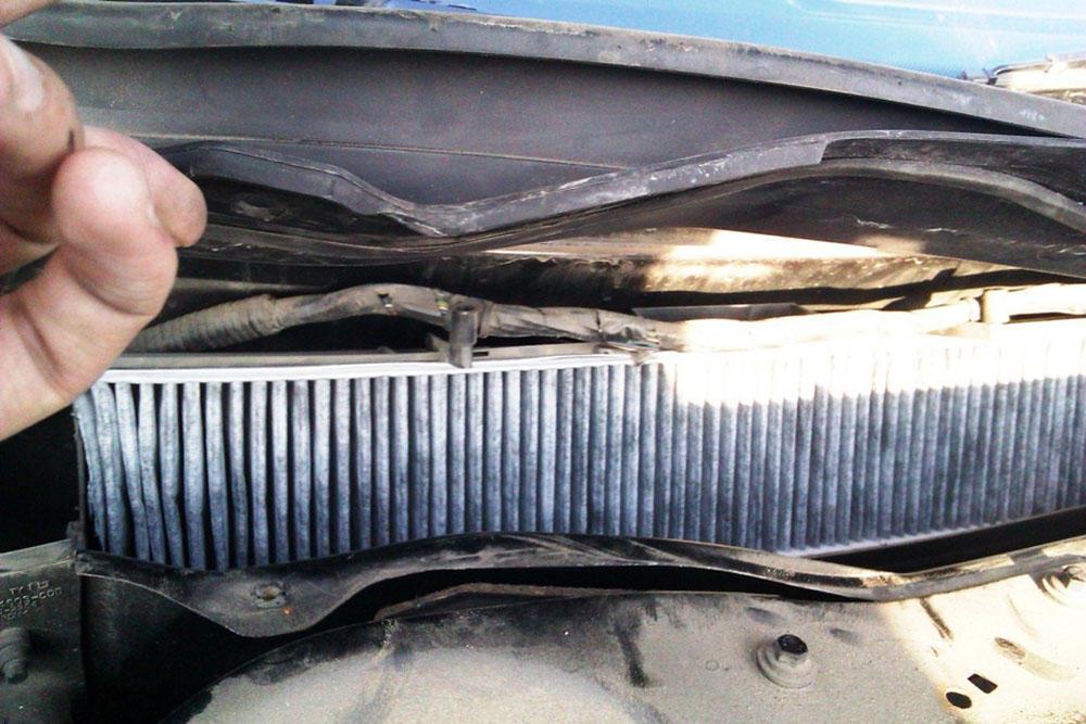 Рекомендации по замене салонного фильтра на Ford Mondeo 3 и 4 поколения