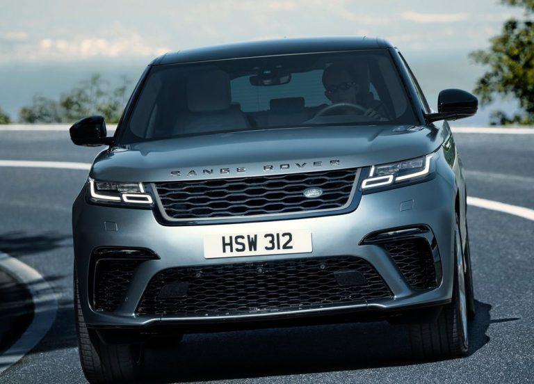 Range Rover Velar – премиальный британский внедорожник