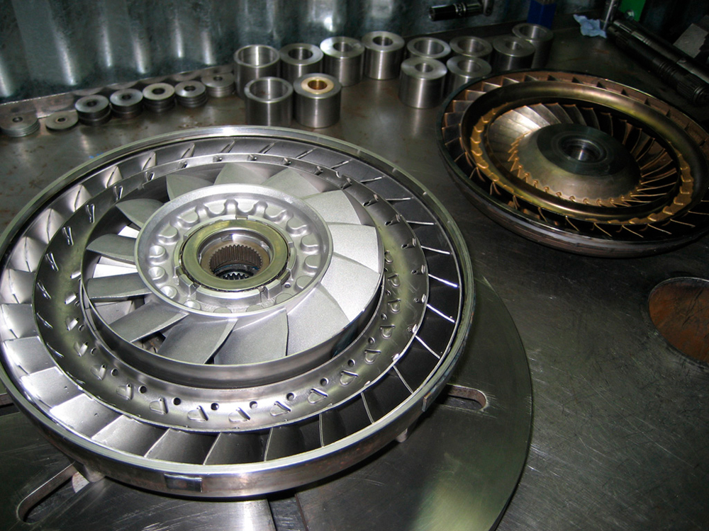 О гидротрансформаторе АКПП