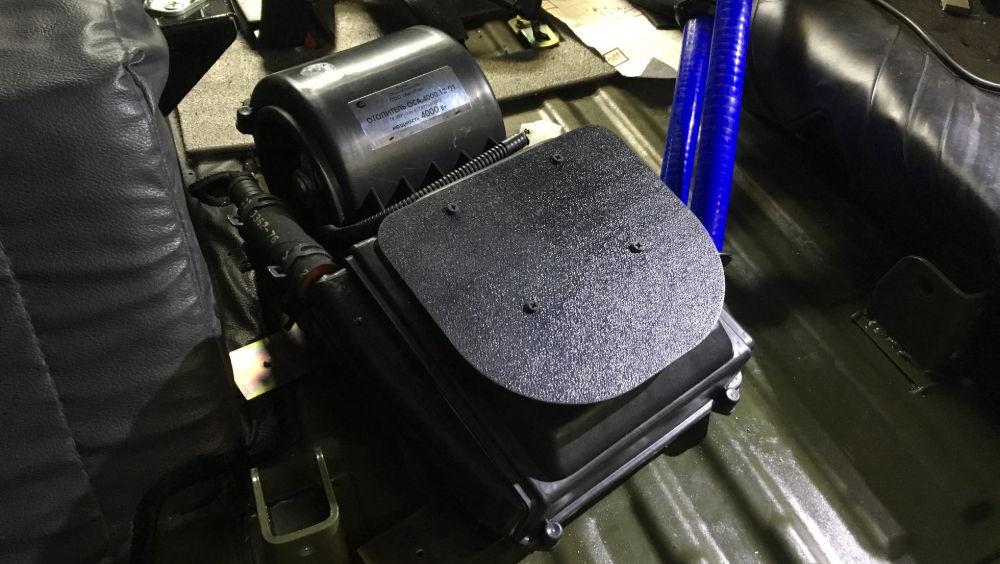 Способы установки дополнительной печки на УАЗ