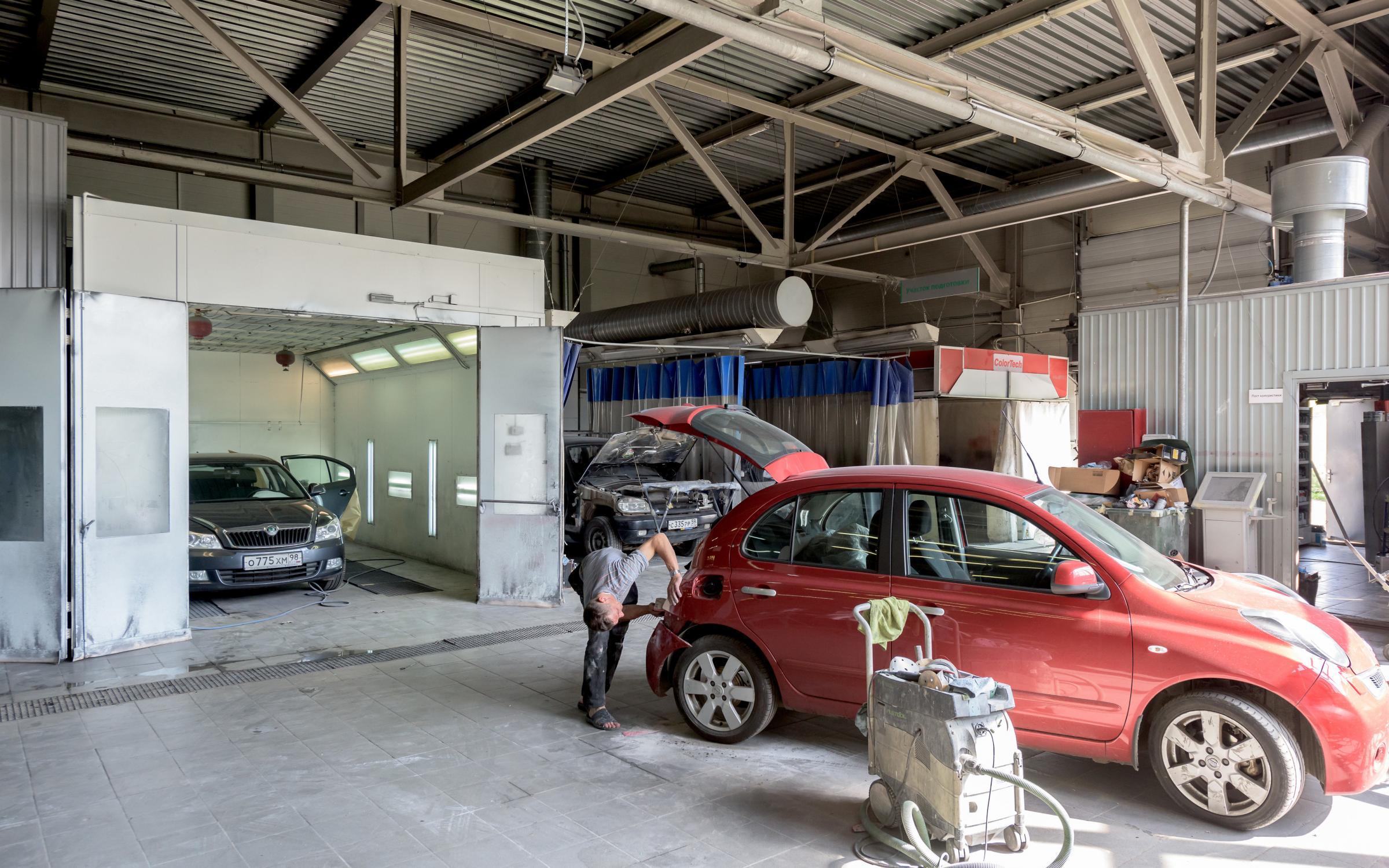 Все что необходимо знать о кузовном ремонте автомобиля