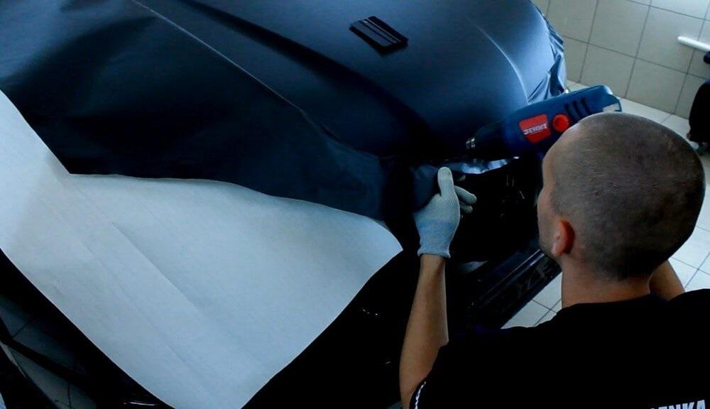 Оклейка матовой пленкой автомобиля своими руками
