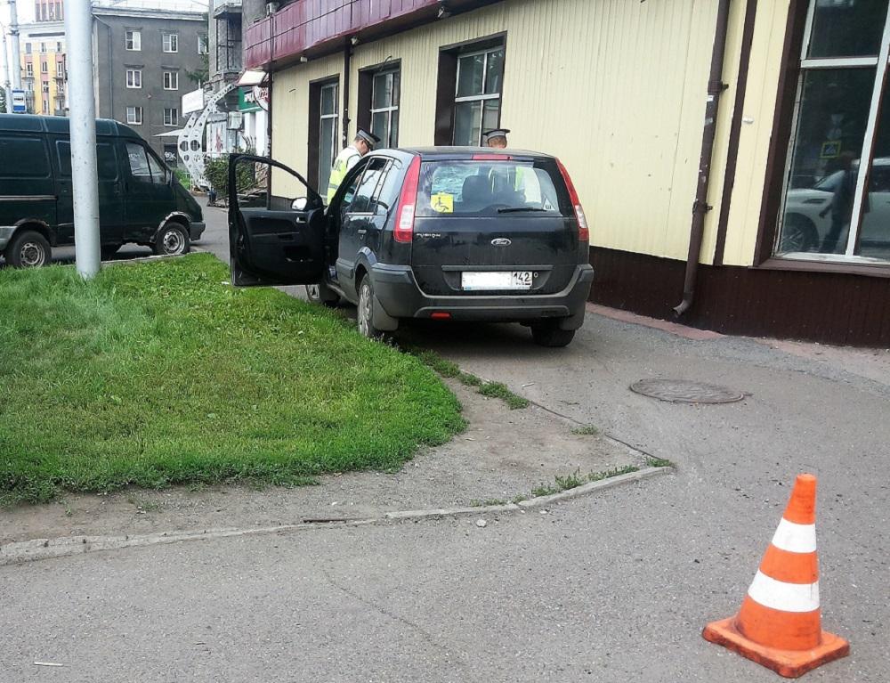 Наезд на пешехода в месте, где нет разрешения на пересечение проезжей части
