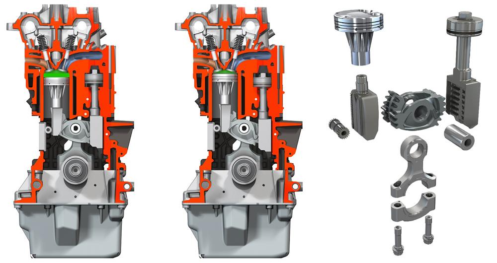 Какими особенностями обладают двигатели с переменной степенью сжатия