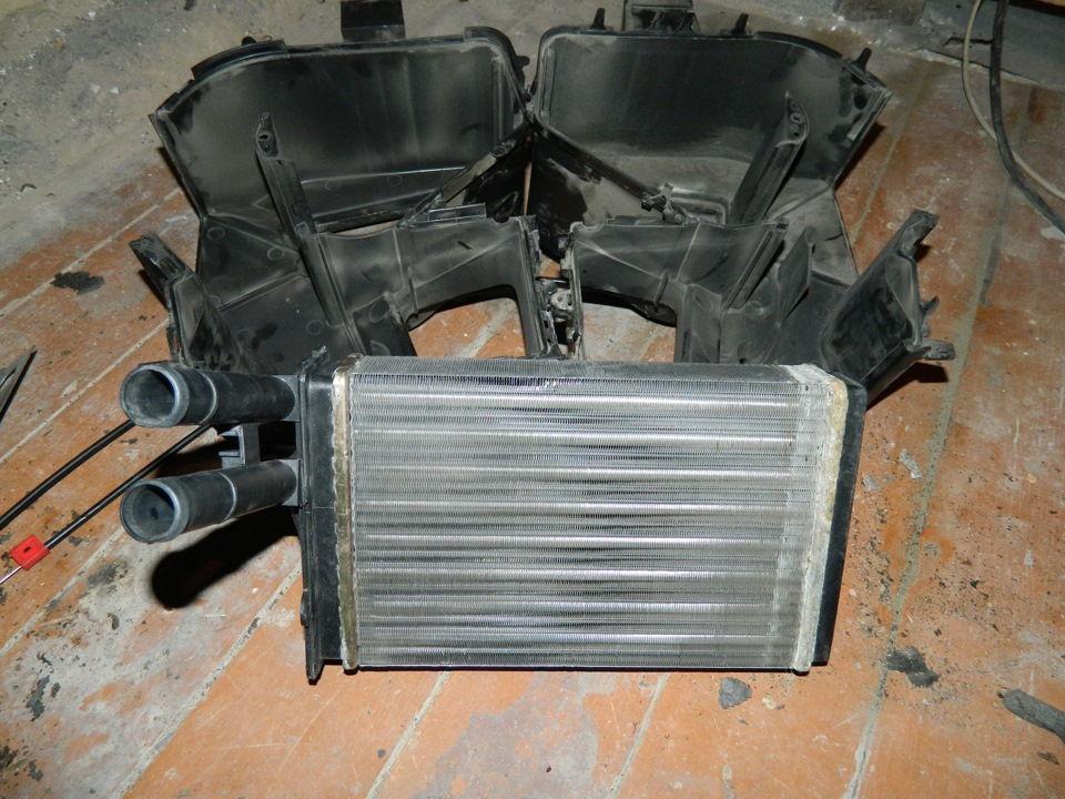 Как устроена и работает печка на автомобилях Audi 80