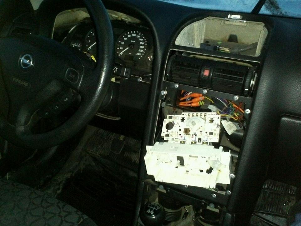 Практически не греет штатная печка Opel Astra G, как можно исправить положение