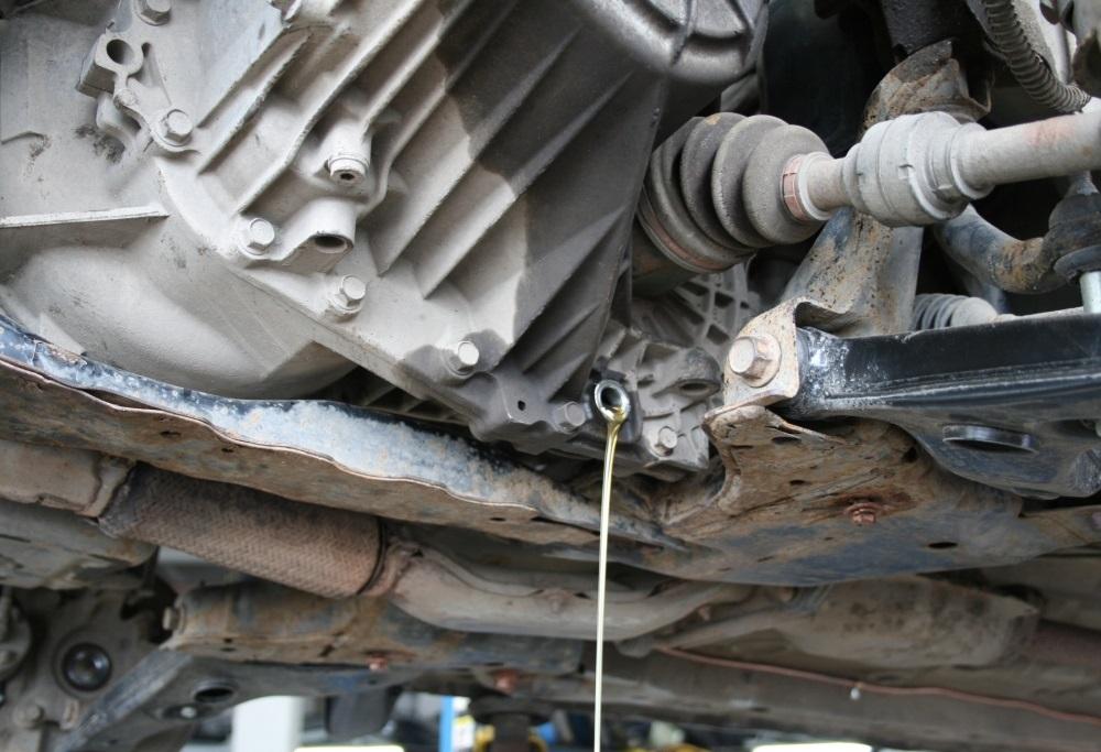 Инструкция по самостоятельной замене масла в механической коробке передач
