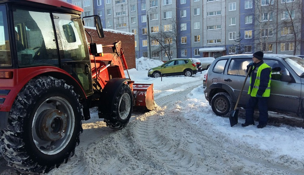 Какой штраф за парковку на газоне в зимний период